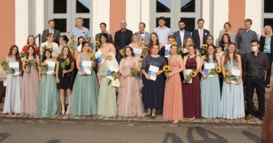 Abiturfeier der Beruflichen Schulen Achern in der Illenau